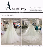 Vestido de casamento novo real do vestido da princesa esfera da alta qualidade de Aoliweiya
