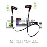 Fone de ouvido estereofónico sem fio dos auriculares do auscultadores de Bluetooth do esporte