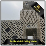 外部の金属のアルミニウム正面の装飾的な壁のクラッディング