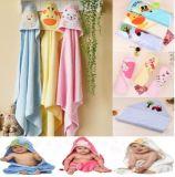 Algodón encapuchado Designl animal de la toalla de la manta del baño del algodón del bebé con alta calidad