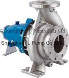 Pompe à eau centrifuge horizontale d'aspiration simple d'acier inoxydable