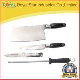 Un cuoco unico dei 8 di PCS dell'acciaio inossidabile utensili della cucina/lama della frutta con il supporto