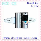 情報処理機能をもったコードデジタルガラスカードのドアロック