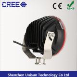 12-24 8000lm coche de la luz de conducción de 90W 9X10W CREE LED