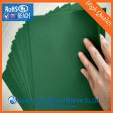 Roulis rigide de PVC de bon vert d'extension pour le verre synthétique