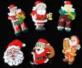 LEIDENE Kentekens in Diverse Stijlen van Kerstmis