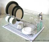 Présentoir pratique de crémaillère en métal de vaisselle de cuisine avec le prix concurrentiel