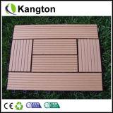 Напольные блокируя деревянные пластичные составные плитки палубы WPC (плитка WPC)