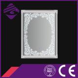 Specchio della stanza da bagno incorniciato arte fissata al muro di rettangolo di Jnh273-S con il LED