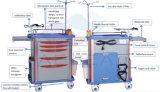 trole da emergência do ABS do uso do hospital de 850mm
