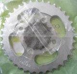 Pignon de fraisage d'aluminium de moto de vélo de précision de norme ANSI