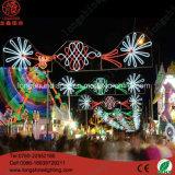 Éclairage décoratif de vacances de Noël de rue de l'illumination DEL