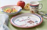 Plaat van de Lunch van het Jonge geitje van de melamine de Seires 3-verdeelde (FB808)