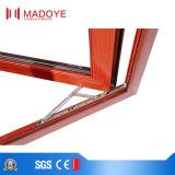 Ventana de madera revestida de aluminio de cristal doble del marco