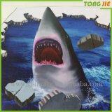 Fábrica de Tongjie en línea Etiqueta al por mayor ecológica de Foor de la etiqueta del vinilo 3D