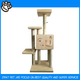 Gute Qualtiy Katze-Möbel für das Löschen der Haustier-Baum-Tierprodukte