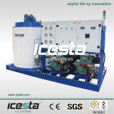 Industrial Pequeña 15t totalmente de acero inoxidable Máquina de hielo en escamas (IFS15T-R4W)