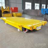 Hochleistungsmaterialtransport-elektrische Schienen-flache Karre