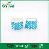 Copo descartável do Yogurt do papel revestido do PE do produto comestível da alta qualidade