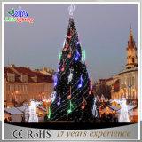 Bunte im Freiendekoration Belüftung-künstliches riesiges Weihnachtsbaum-Licht