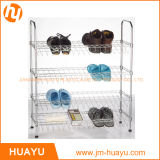 OEM Hot Sale Furniture 4 층 Wire Shoe Rack