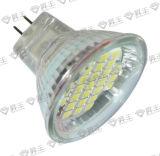 El LED mancha la bombilla de la lámpara SMD 27PCS 2.0W (MR11-3527)