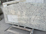 Giallo Ornamentale Granite Stone Counter Tops per Kitchen