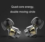 極度の低音のイヤホーンの方法ステレオの金属のイヤホーン