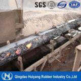 Ceinture de transmission industrielle de convoyeur de tissu anti-calorique