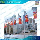 Bandeira ao ar livre da bandeira do poliéster feito sob encomenda Eco-Friendly da impressão (B-NF02F06023)