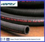 Draht eingeschobener hydraulischer Saugschlauch SAE100 R4