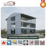 De maat Tent van Drie Verdiepingen met de Muur van het Glas en ABS Muur voor Beweegbaar Gebruik
