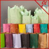 Papiertüten für Einkaufen-Nadelstreifen-Käufer
