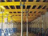 Props와 Timber Beams를 가진 구체적인 Slab Formwork System