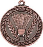 Médaille de ping-pong de couleur d'électrodéposition de deux tonalités