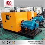 De meertrappige Diesel Pomp van het Water voor Irrigatie/Brandbestrijding met Aanhangwagen