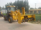 1.6ton Front Hydraulic Wheel Loader with Snow Implements