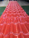 Telha de telhado revestida do metal da cor da argila para a casa residencial