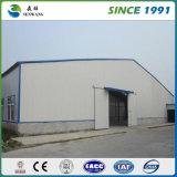 低価格のカスタム軽い鉄骨構造の中国のプレハブの倉庫