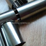 Cartucho de filtro del alambre del tubo de la ranura de la cuña de la fineza para el tratamiento de aguas y el producto