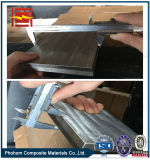 Placa bimetálica de aço de alumínio da soldadura explosiva