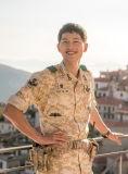 Het Zelfde Ontwerp van de Stof van de Camouflage van de woestijn met Lied jung-Ki