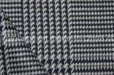Tessuto di T/R tinto filato, 63%Polyester 34%Rayon 3%Spandex, 265GSM