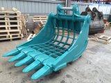 Ведро Dustpan машины Sk200 землечерпалки каркасное для сбывания