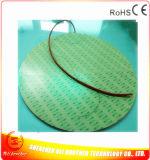 110V 1400W Silikon-Gummi-Heizung des Durchmesser-660*1.5mm für Drucker 3D
