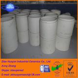 Alto tubo rivestito delle mattonelle di ceramica dell'ossido di alluminio Al2O3 di resistenza all'usura