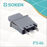 Interruptor de pulsador de la lámpara de la puerta del refrigerador de Soke PS46 1 poste