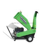 Shredder Chipper de madeira psto do motor de gás do cavalo-força de Loncin 15 industrial