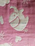 Agua-Absorción de las mantas 100% del telar jacquar de las Seis-Capas del algodón, suave y cómoda, alta