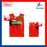 Camisa de polo sublimada venta caliente de la impresión de Healong
